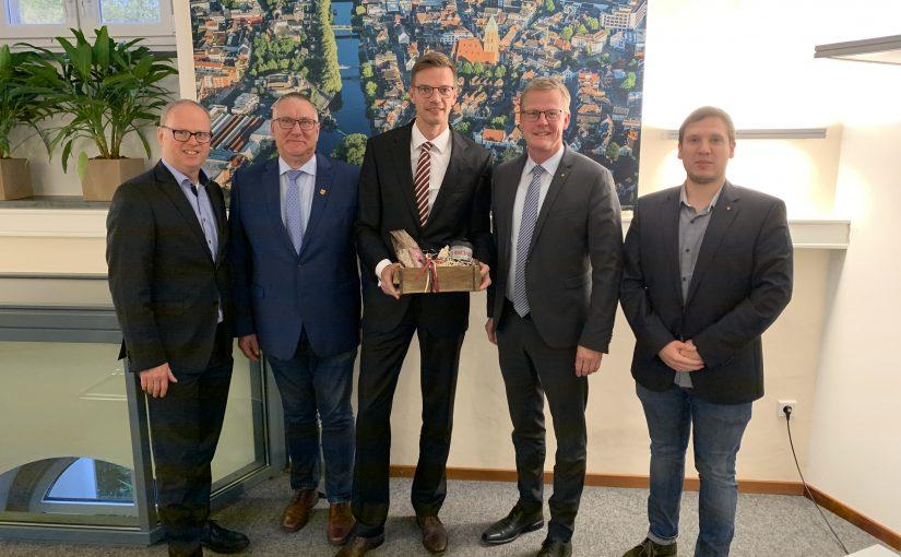 EWG-Aufsichtsrat begrüßt neuen Geschäftsführer