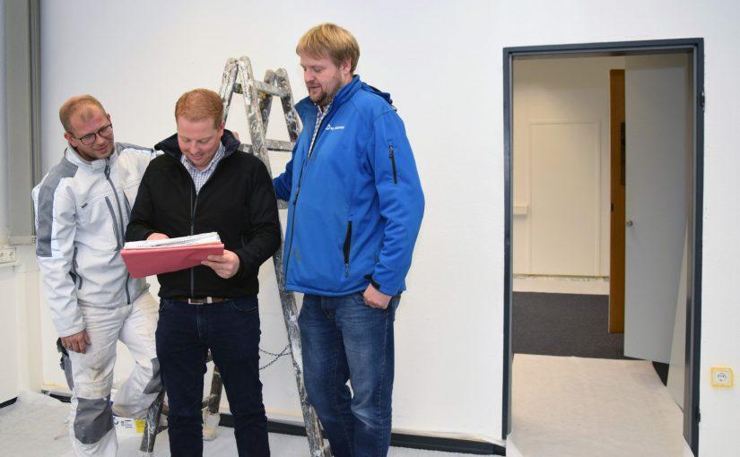 SWTE Netz nimmt ehemaliges RAG-Personalgebäude in Betrieb