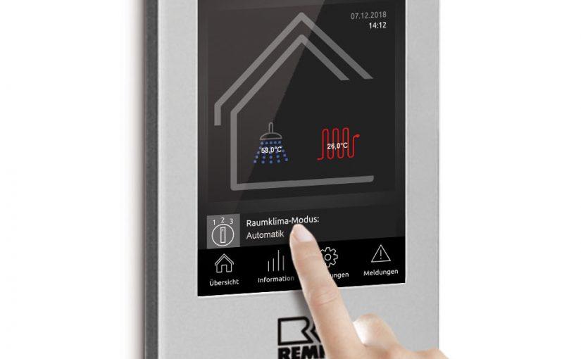 Remko: Modulare Energiezentralen mit Smart-Control Touch und W-LAN-Anbindung