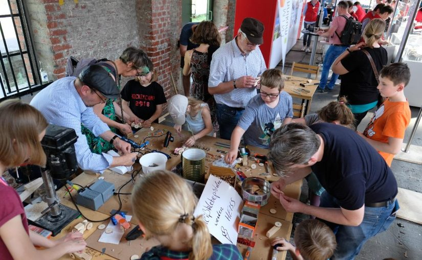 Dream it, Make it, Share it! city2science plant ersten MAKERTHON OWL