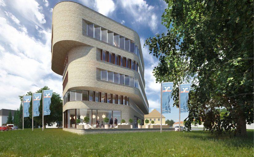 """Das """"Winkelhaus"""" bei Rohbau-Fertigstellung an Eigennutzer verkauft"""