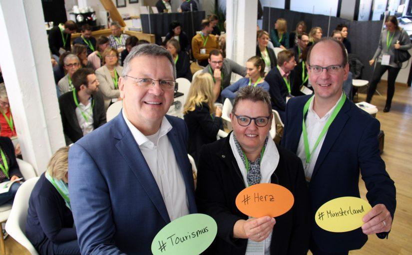 Erfolgsfaktor Qualität: Tourismustag Münsterland vernetzt die Region
