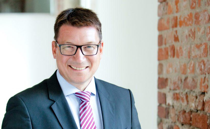 Burkhard Balz ist neuer Senior Vice President Automation Systems bei Lenze - Foto: Lenze