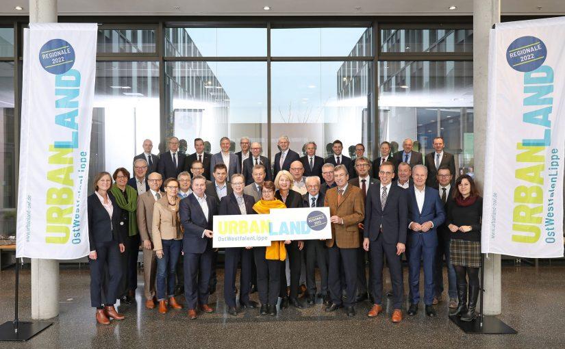 Staatssekretär Christoph Dammermann zu Gast beim UrbanLand-Board, dem Entscheidungsgremium der REGIONALE 2022