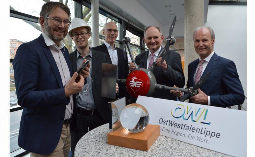 """Fünf Mal Innovation """"Made in OWL"""" – OWL-Innovationspreis 2019/20"""
