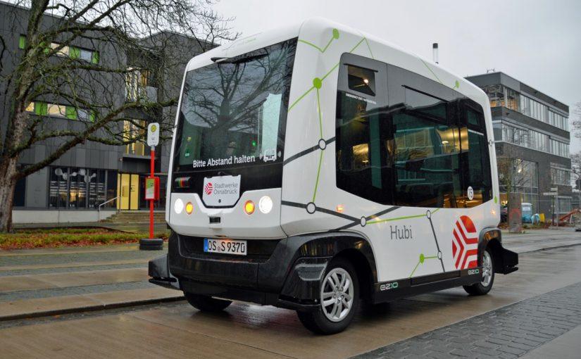 """Autonomer Shuttlebus """"Hubi"""": Testphase Zwei startet"""