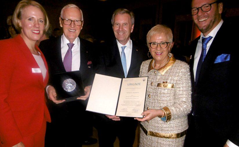Hohe Auszeichnung für Dietmar Harting