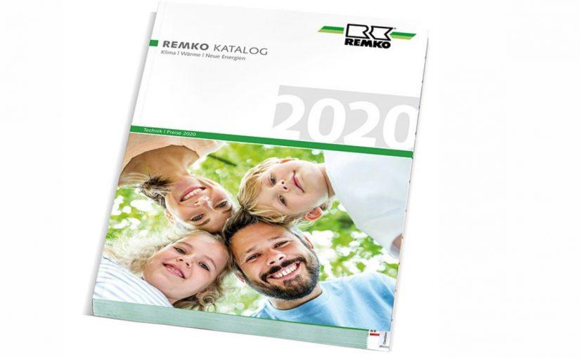 Bestens informiert: neuer Remko-Gesamtkatalog 2020