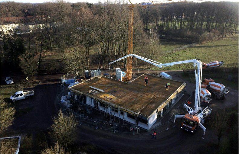 Im TaT Themenpark tut sich wieder was – Neubau eines Bürogebäudes