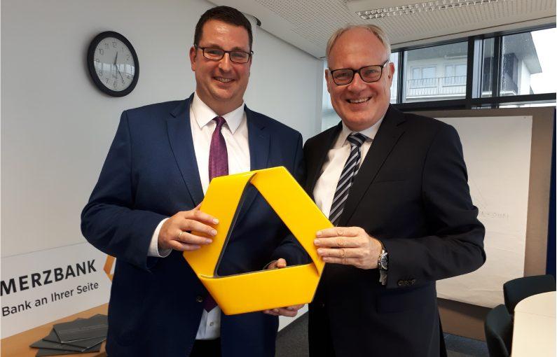 Frank Brüggemann und Christopher Hellweg. Foto: Commerzbank AG