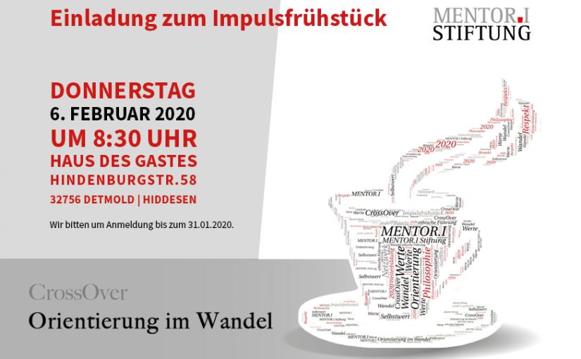 Postkarte Impulsfrühstück - Bild: Mentor.I Stiftung