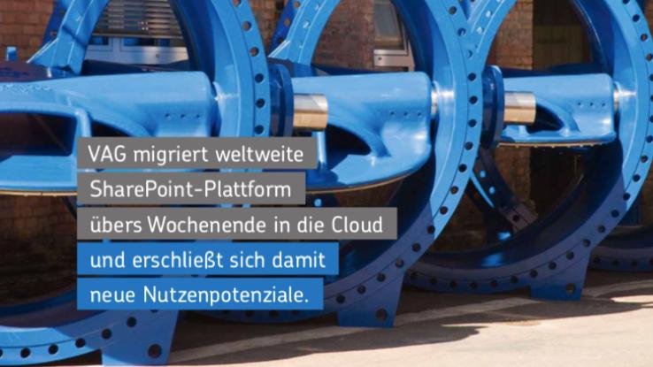 Net at Work migriert für VAG SharePoint-2013-Landschaft in die Cloud