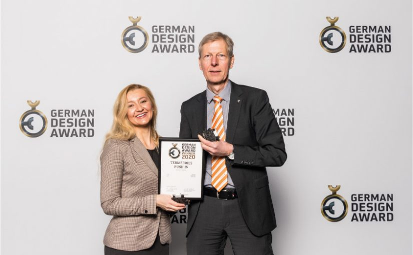 Weidmüller gewinnt German Design Award 2020