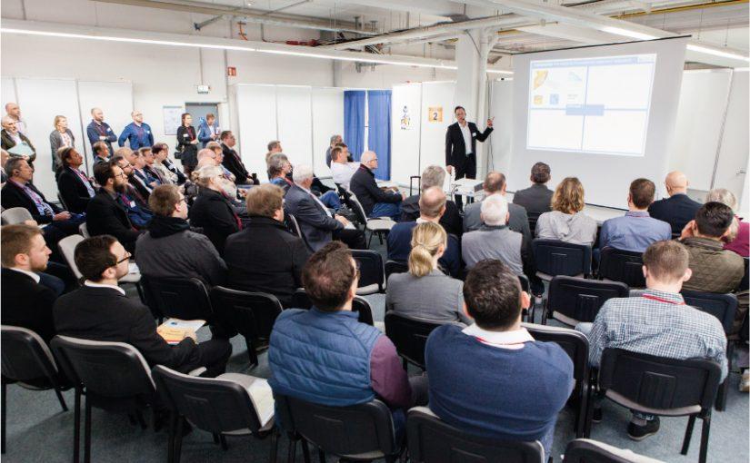 Gut besuchte Vortragsreihe beim Technologietag - Foto Copyright: Mara Hein