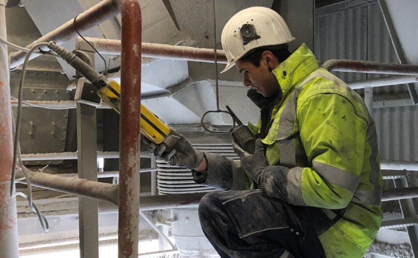 WESTKALK repariert Kalkstein-Aufbereitungsanlagen