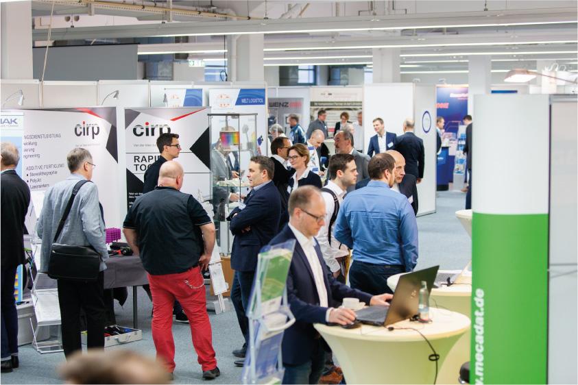 Der Technologietag bietet eine hervorragende Gelegenheit zum Netzwerken in der Kunststoffbranche - Foto Copyright: Mara Hein
