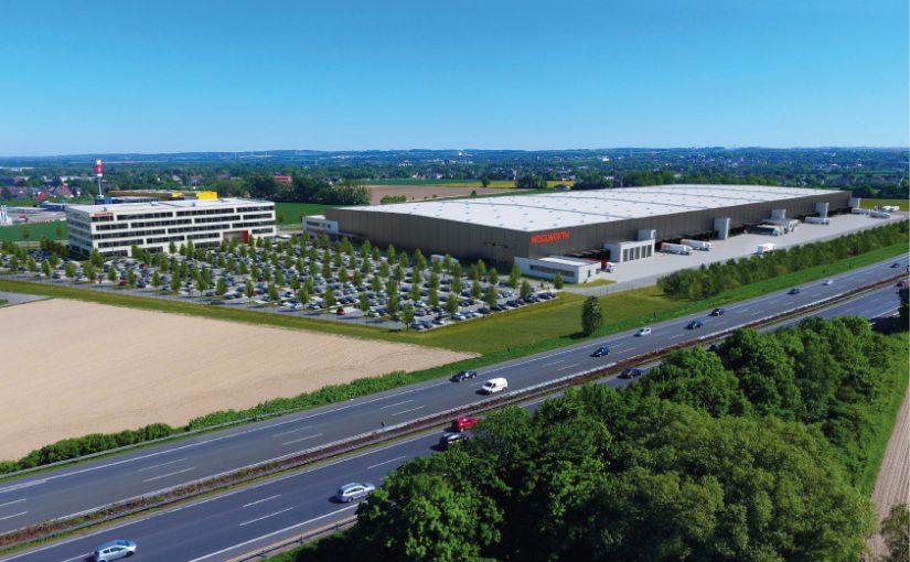 Neubau der Firmenzentrale für Woolworth im Zeitplan