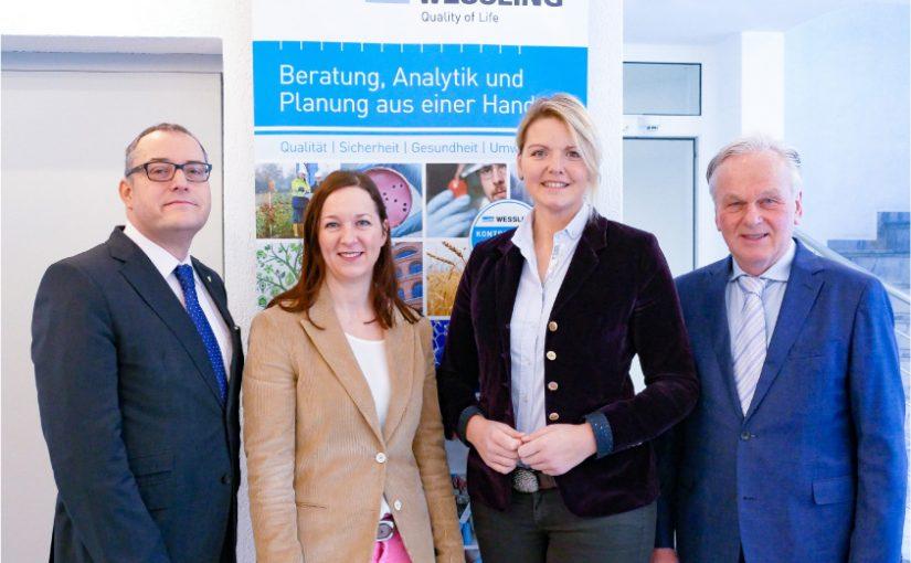 CDU-Wirtschaftsrat tagt in WESSLING Unternehmenszentrale