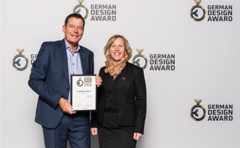 """MX-3 von markilux mit """"German Design Award"""" 2020 ausgezeichnet"""