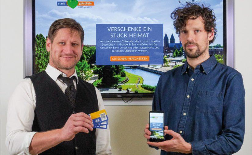 Münsterlandweites Gutschein-Portal unterstützt den lokalen Handel