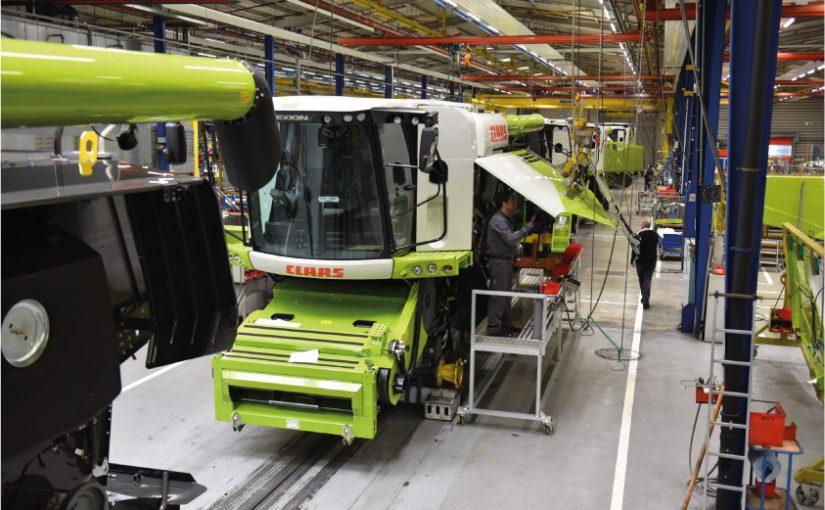 CLAAS fährt Serienfertigung in Harsewinkel kontrolliert zurück