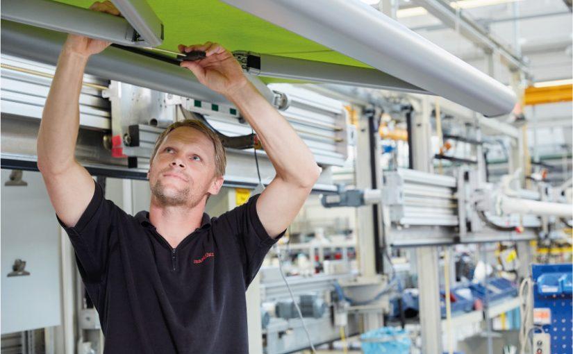 markilux betreut intensiv Einstieg ins Unternehmen für Nachwuchskräfte