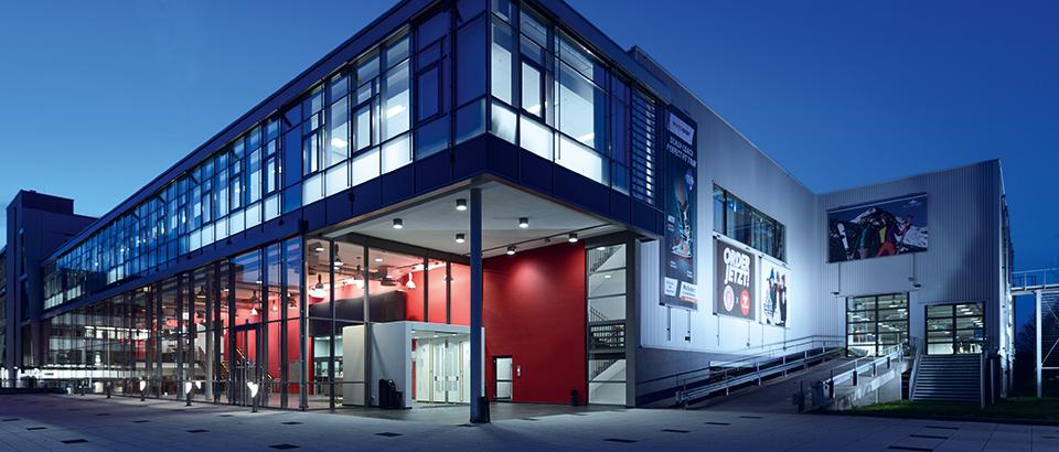 Die Redblue Messehalle in Heilbronn - Foto: untitled exhibitions
