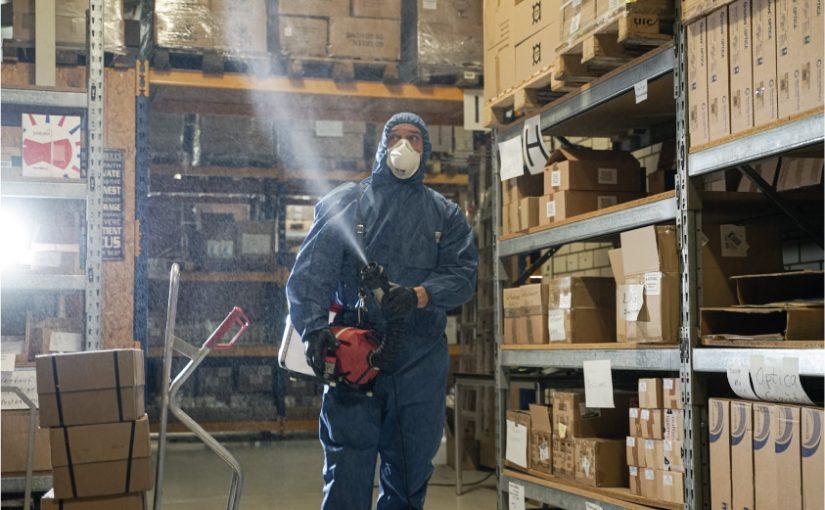 Raum- und Flächendesinfektion gegen Viren, Bakterien und Sporen