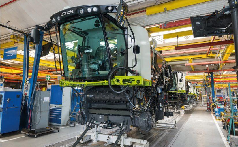 CLAAS fährt Serienfertigung von Erntetechnik und Traktoren wieder hoch