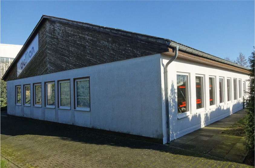 Neue Lagerhalle in Borgholzhausen - Foto: de Man