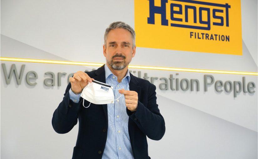 Hengst Filtration startet die Produktion von Atemmasken