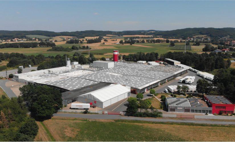 Produktionsstandort der ASSMANN Büromöbel GmbH & Co. KG in Melle. - Foto: ASSMANN