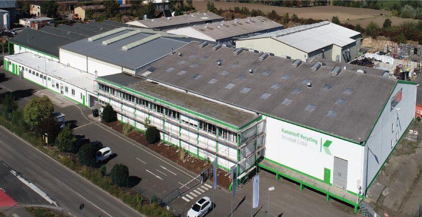 Die Kunststoff Recycling Grünstadt verarbeitet am Standort in erster Linie thermoplastische Kunststoffe aus dem Post-Consumer- und Post-Industrial-Bereich. - Foto: PreZero