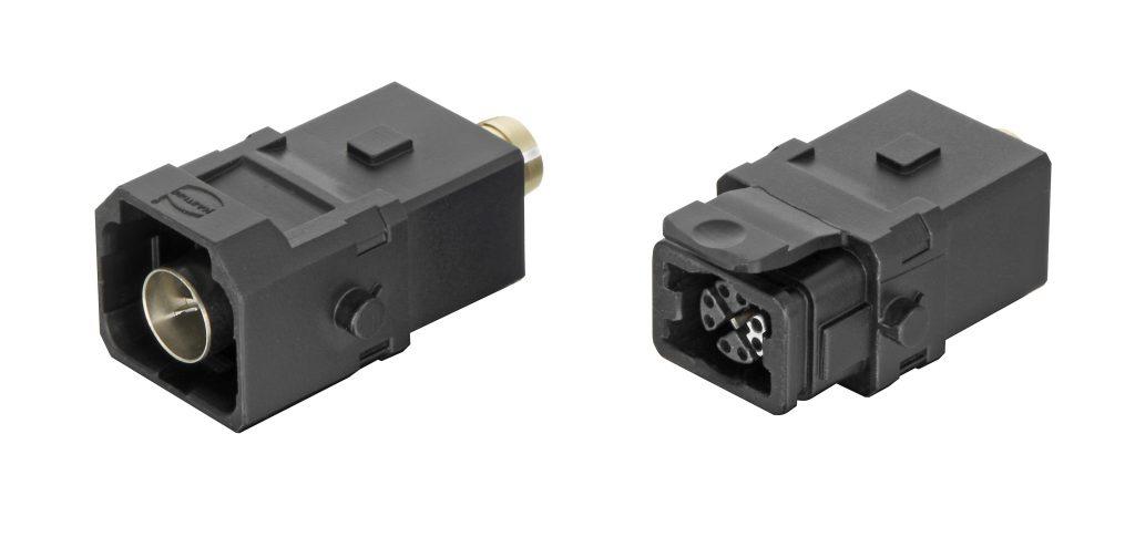 Die Reihe Han® 1A bietet kleine, leichte und vielseitige Rechtecksteckverbinder im Kunststoffgehäuse. Sie eignet sich besonders für den Anschluss dezentraler Verbraucher, ermöglicht ein modulares Anlagen-Design und unterstützt die Miniaturisierung in Maschinenbau und Automation. - Foto: HARTING
