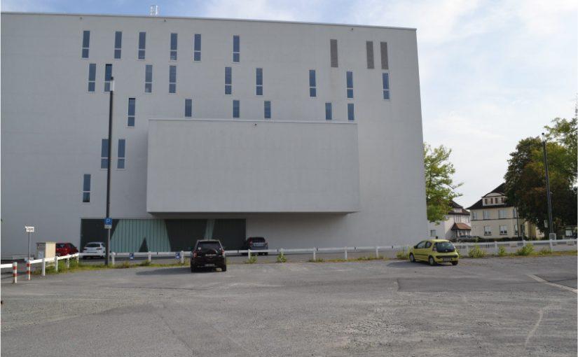 An dieser Stelle wird das neue AuKuKi – das Autdoor-Kultur-Kino stattfinden. - Foto: Kultur Räume Gütersloh