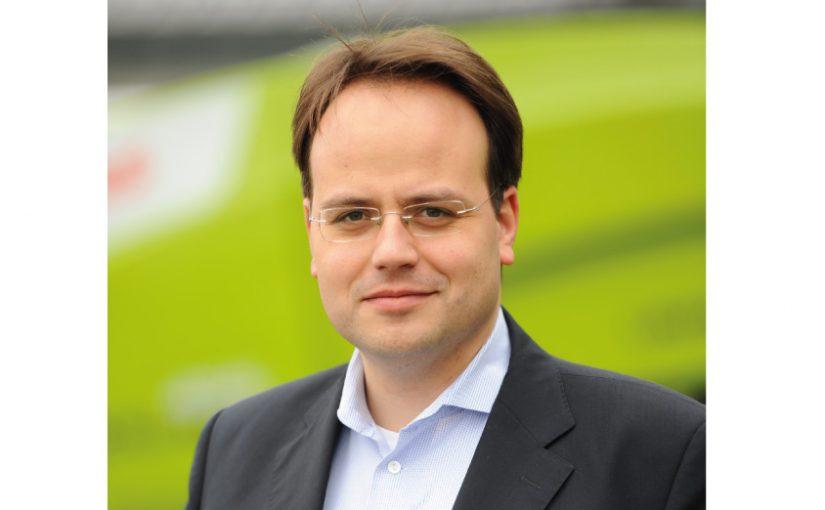 CLAAS: Christian Radons übernimmt weltweite Vertriebsverantwortung