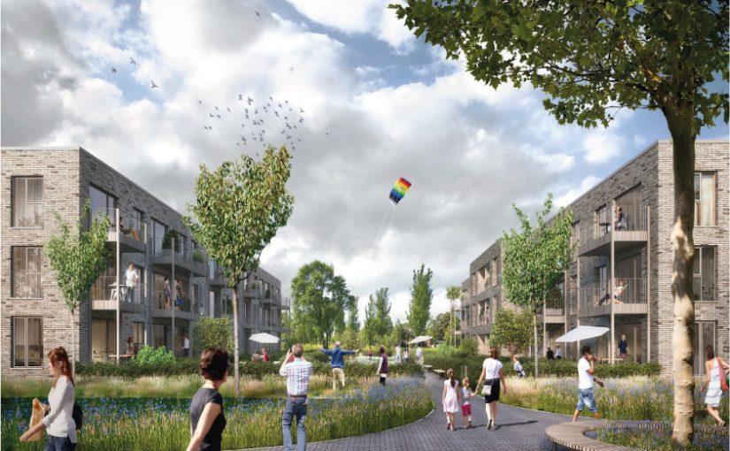Depenbrock hat für den Bau eines Wohnquartiers auf einem alten Kasernengelände in Münster einen weiteren Auftrag bekommen, es entstehen 120 Sozialwohnungen. Foto: Depenbrock