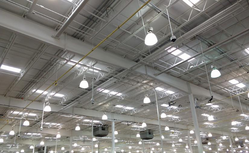 Lösungen für energieeffiziente Industriehallenbeleuchtung