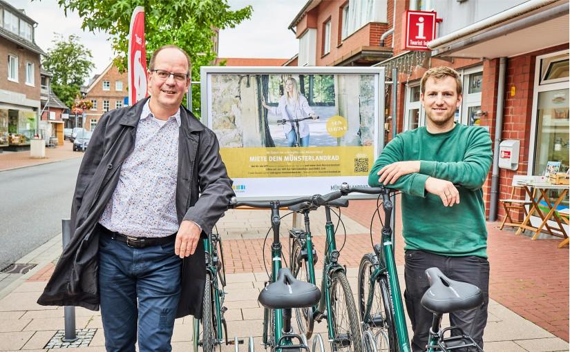 """Fahrradverleihsystem """"Miete dein MünsterlandRad"""" startet in Pilotphase"""