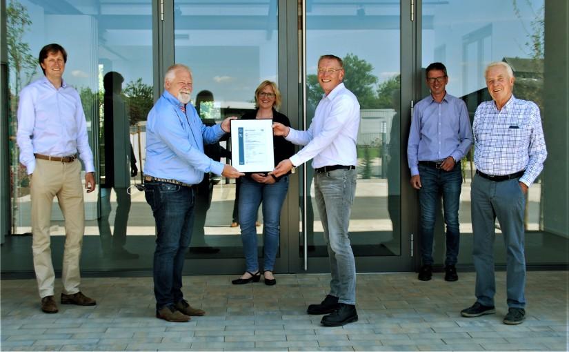 Neu zertifiziert: Folienhersteller W. Gröning GmbH  & Co. KG, Rheine