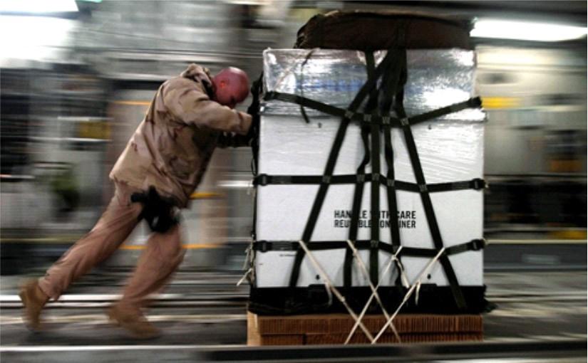 Ohne Industrieverpackungen läuft im globalen Warentransport nichts! - Foto: REKUBIK e.K.
