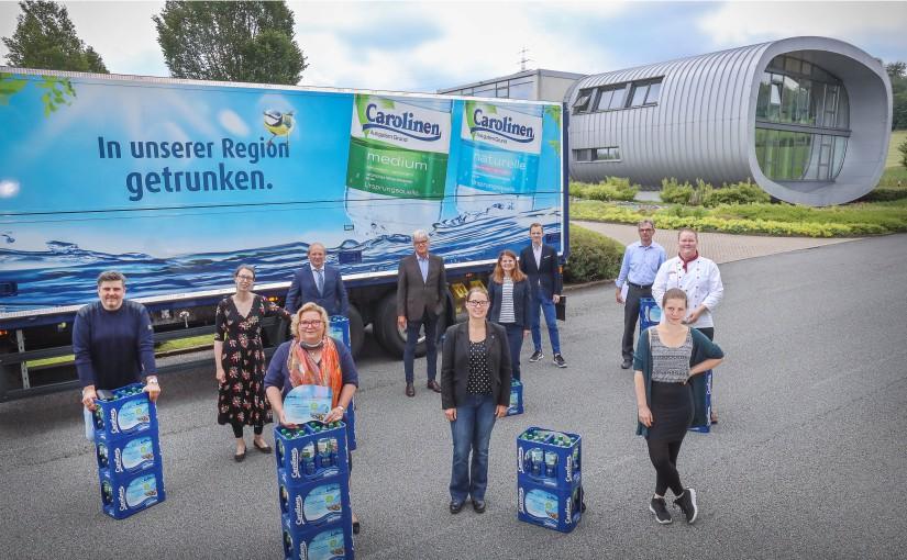 Carolinen-Spendenaktion: 30.000 Euro Corona-Hilfe für OWL Gastronomie