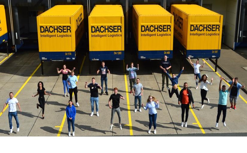 Der neue Ausbildungsjahrgang von Dachser in Bad Salzuflen. - Bildquelle: Dachser