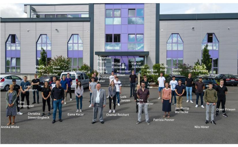 WORTMANN AG stellt 28 neue Auszubildende ein. Mit 92 ins neue Lehrjahr