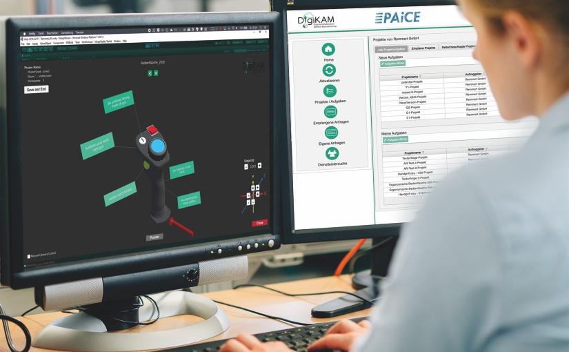 Auf der DigiKAM-Plattform entwickeln Experten und Anwender gemeinsam 3D-gedruckte Bauteile. - Foto: Fraunhofer IEM