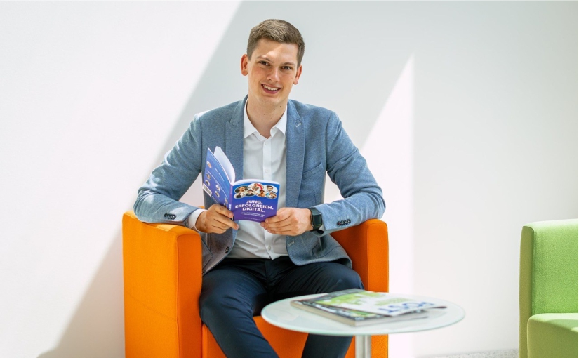 Unternehmen gründen unter 18. Gründer Henning Hünerbein zeigt wie es geht