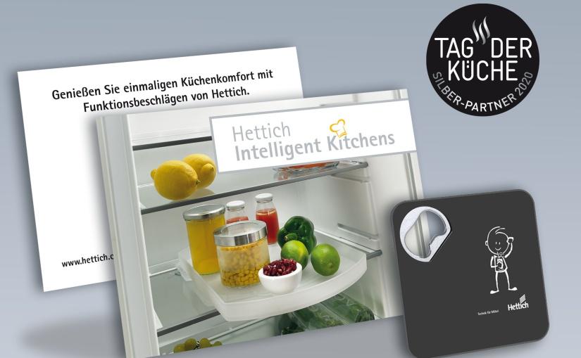 Tag der Küche 2020: Hettich-Aktionspaket mit attraktiven Give-Aways