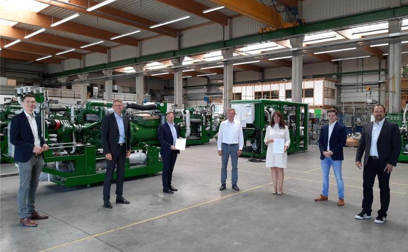 Ahaus: Nachhaltige und dezentrale Energieversorgung mit Wasserstoff