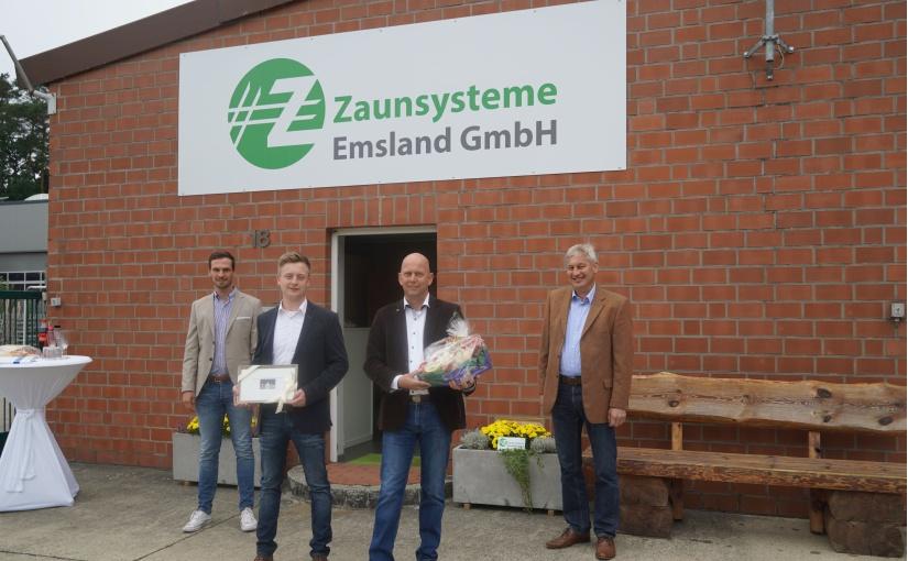"Neugründung der ""Z.S.E. Zaunsysteme Emsland"" GmbH in Baccum"