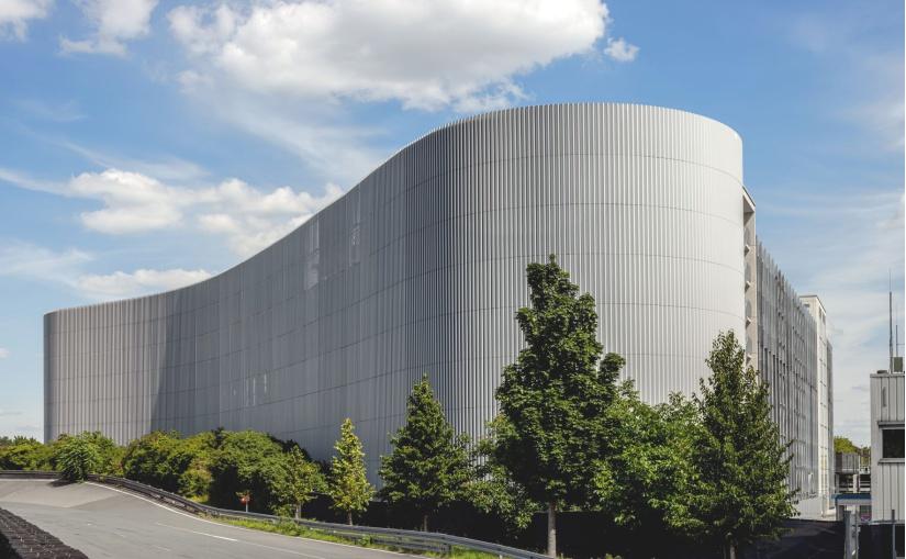 Goldbeck-Parkhaus, Continental Teves AG & Co.oHG, Frankfurt. - Foto: Goldbeck